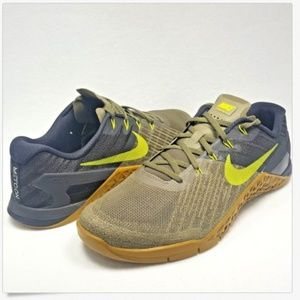 33732c6dc5d0d6 Nike Shoes - Nike Metcon 3 Medium Olive Bright Cactus Training
